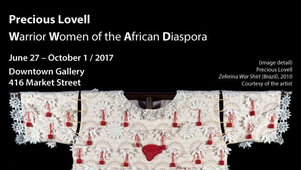 Precious Lovell: Warrior Women of the African Diaspora – Opens June 27