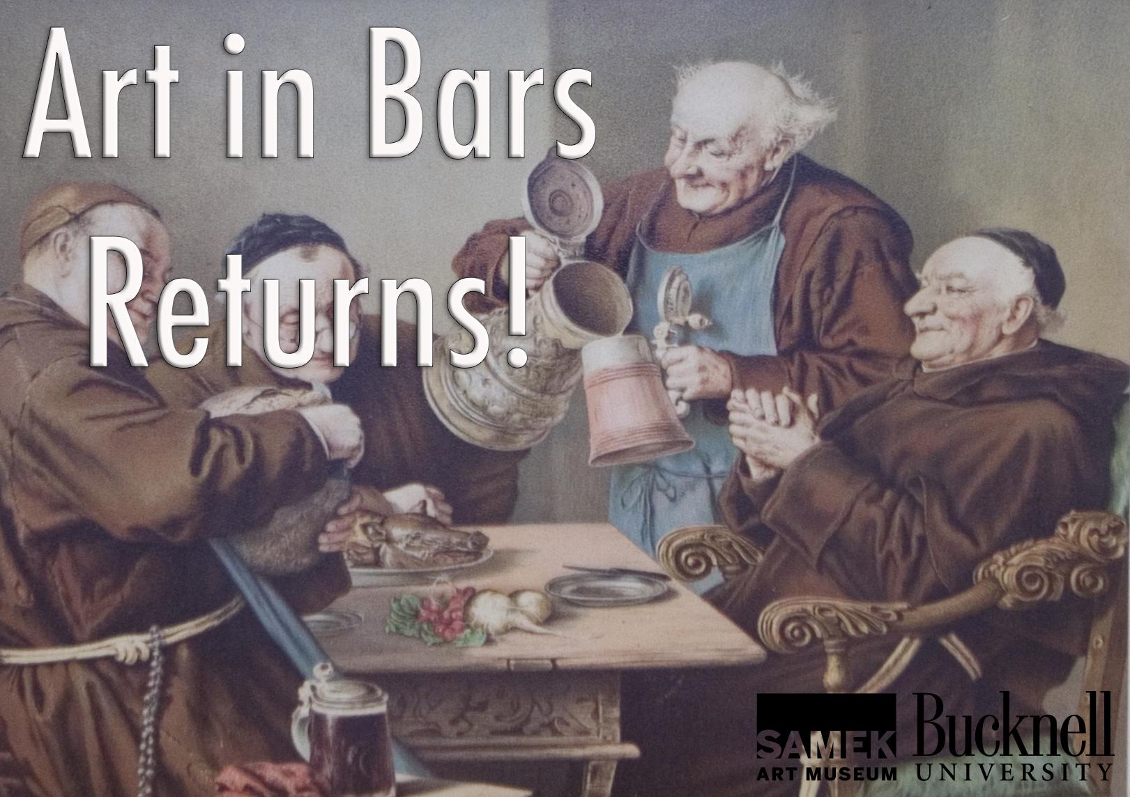 Art in Bars 10/3
